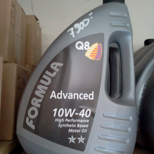 Formula Q8 Advanced 10W-40 4L Szintetikus motorolaj 7900Ft