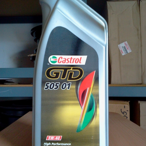 Castrol GTD 505 01 Diesel 5W-40 1L Dízel 2990Ft