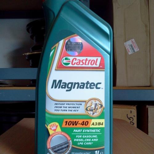 Castrol Magnatec 10W-40 A3/B4 1L Benzin, Dízel, CNG, LPG Minden Suzukihoz 2010-ig. 2490Ft