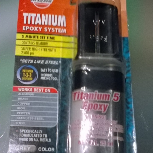 Titanium epoxy 25ml  2900Ft