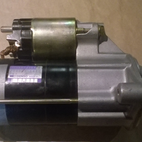 1996-2003 Suzuki Swift 1.0 és 1.3 - Önindító 6-8 szelepeshez Denso, gyári! 28000Ft