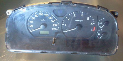 Suzuki Wagon R+ 2004-2008 1.3 Benzin - Kilométeróra egység, fordulatszám mérős, ABS-es Műszeregység, óracsoport. 8000Ft