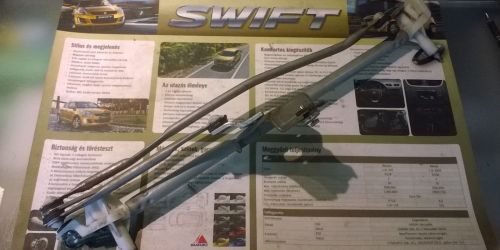 2005-2008 Suzuki Swift Ablaktörlő mechanika, szerkezet Motor nélkül! 10000Ft