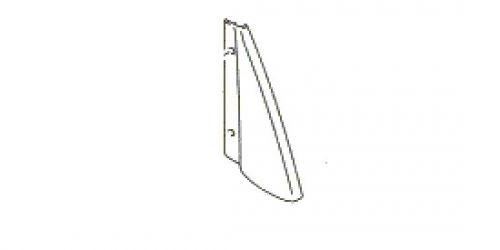 Suzuki Ignis - Bal oldali hátsó ajtó belső háromszög műanyag borítás 83965-86G00-5PK 1000Ft