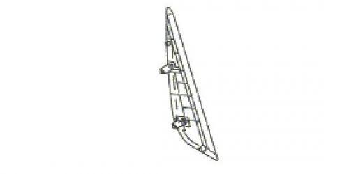 Suzuki Ignis - Bal oldali hátsó ajtó külső háromszög műanyag borítás 83972-86G00 1000Ft
