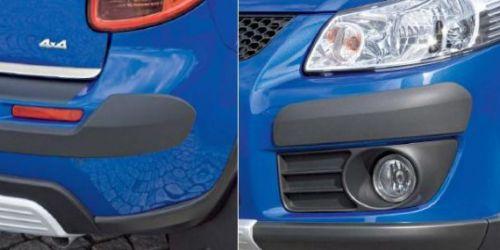 2006-> Suzuki SX4 - Díszcsík garnitúra /Gyári/ 4db-os szett -2db az első lökhárítóra (jobb-bal) -2db a hátsó lökhárítóra (jobb-bal) Eredeti Suzuki alkatrész 990E0-79J59 18990Ft